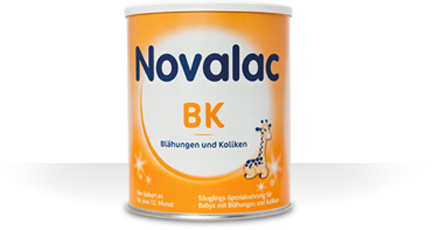 Novalac BK bei Blähungen und Koliken